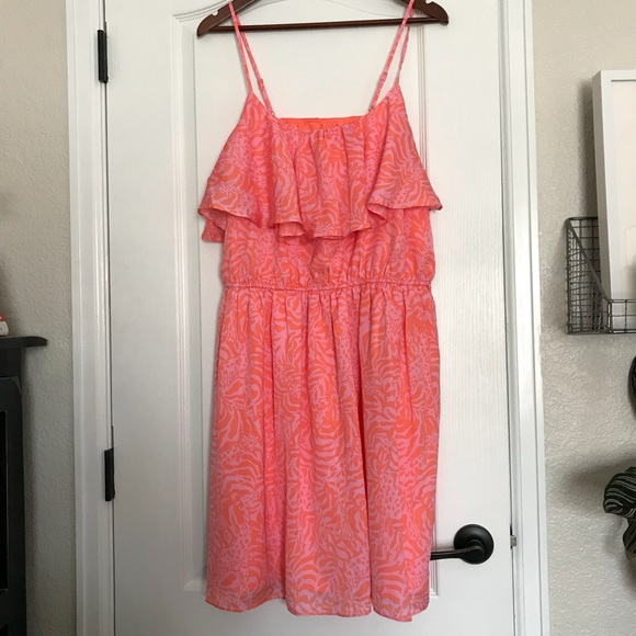 7721e53650f Lilly Pulitzer for Target Dresses   Skirts - Lilly Pulitzer for Target XXL  Jungle Orange Dress